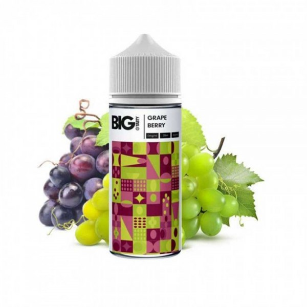Grape Berry The Big Tasty MyVapery Shake and Vape 120ml