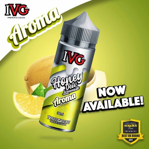 IVG Honeydew Lemonade Shake and Vape 36/120ml