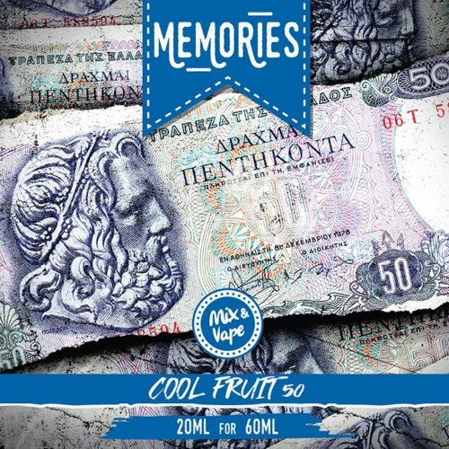 Memories 50 Δραχμές COOL FRUIT 20/60ml