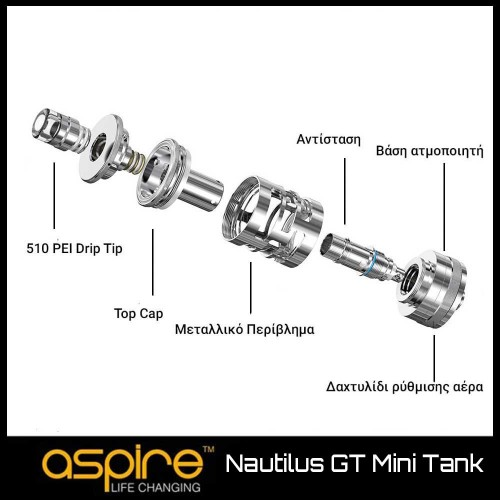 Aspire Nautilus GT Mini Atomizer