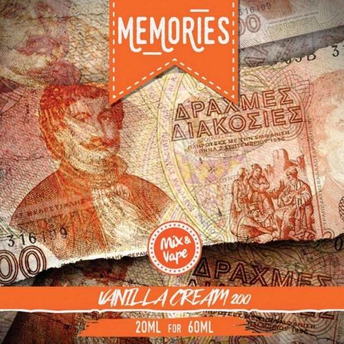 Memories 200 Δραχμές VANILLA CREAM 20/60ml