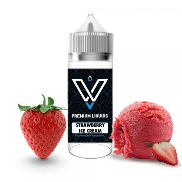 Strawberry Ice Cream 120ml VNV Shake and Vape