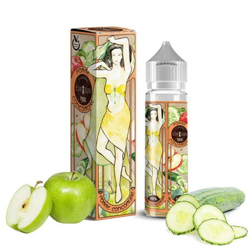Curieux Pomme Concombre 20/60ml Shake and Vape