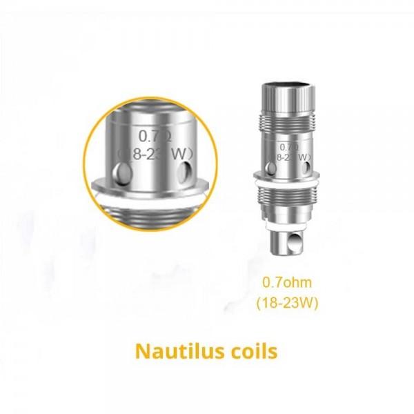 Aspire Nautilus BVC Triton mini 0.7 Ohm Coils