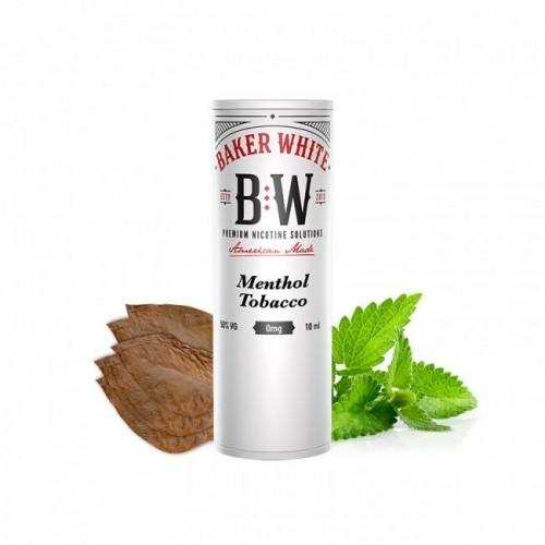 Menthol Tobacco - Baker White 10ml