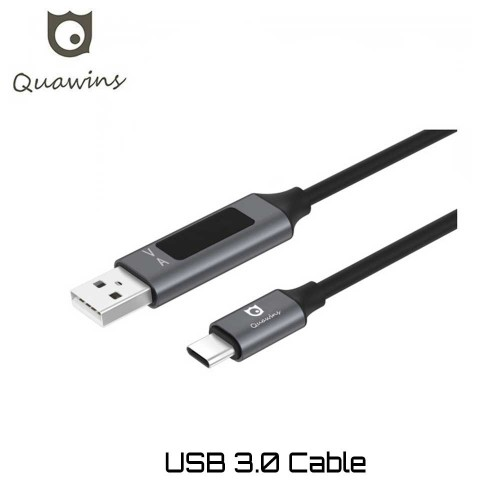 Quawins QC 3.0 CABLE Type C VA Display Καλώδιο