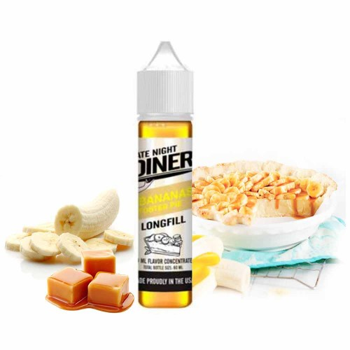 Late Night Diner Bananas Foster Pie Flavor Shot 20/60ml