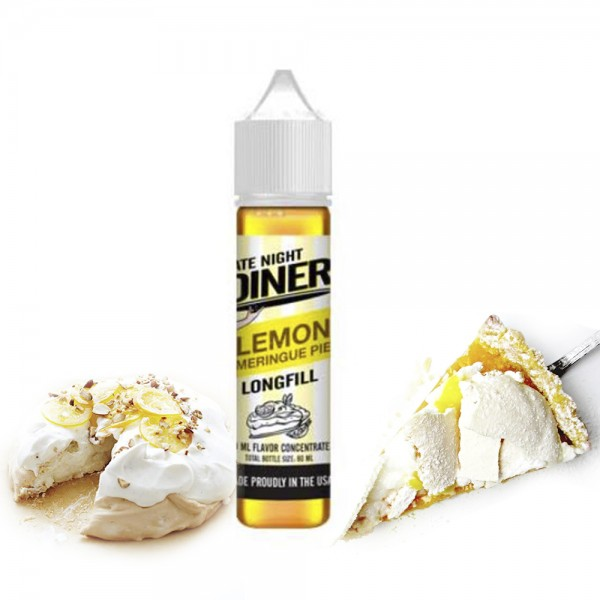 Late Night Diner Lemon Meringue Pie Flavor Shot 20/60ml