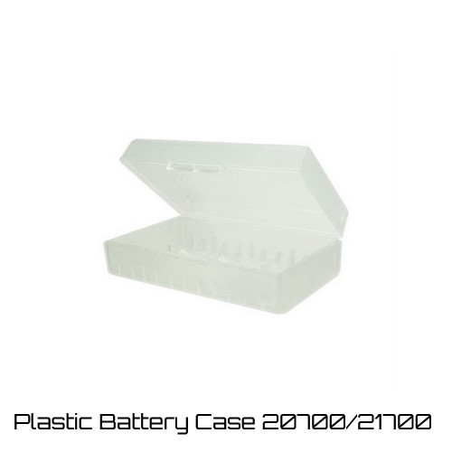Plastic Battery Case - Θηκη μπαταριων 20700 21700