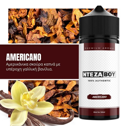 NTEZABOY Americano Shake and Vape 25/120ml