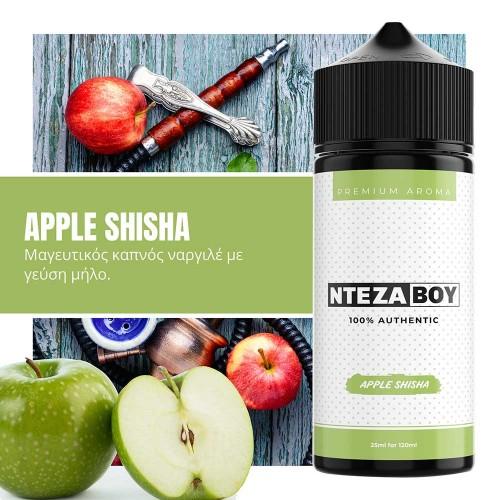 NTEZABOY Apple Shisha Shake and Vape 25/120ml