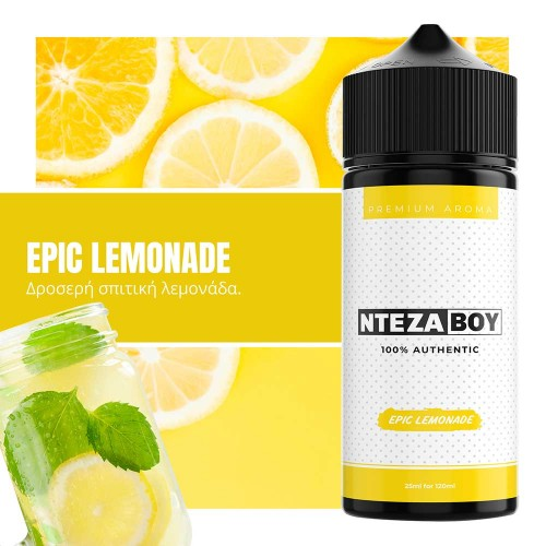 NTEZABOY Epic Lemonade Shake and Vape 25/120ml