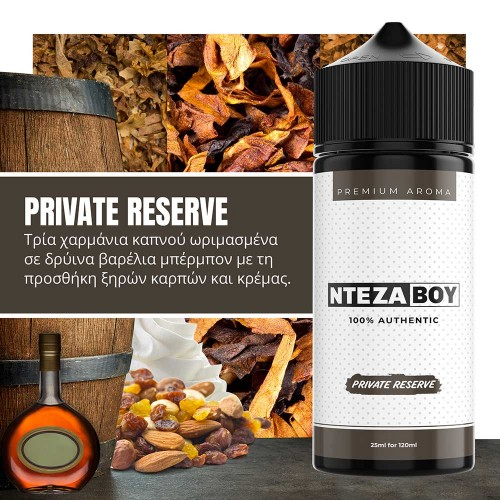 NTEZABOY Private Reserve Shake and Vape 25/120ml