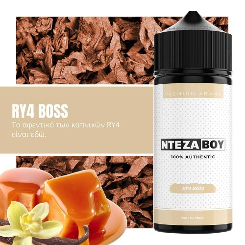 NTEZABOY RY4 Boss Shake and Vape 25/120ml