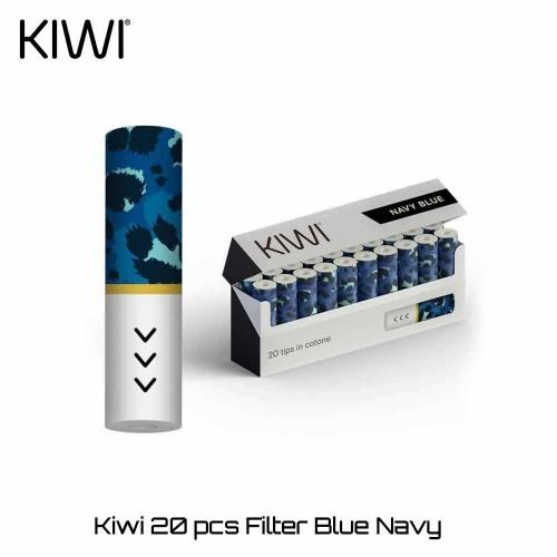 Kiwi Filter Pack Blue Navy - Ανταλλακτικα Φιλτρακια