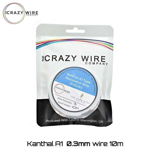Crazy Wire Kanthal A1 0.30mm 10m wire Σύρμα