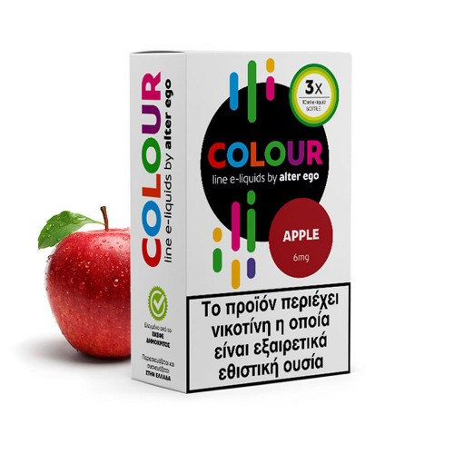 Apple 3x10ml colours alterego
