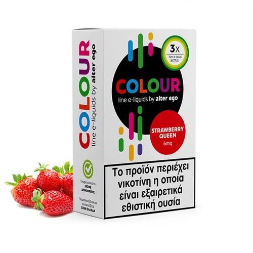 Strawberry Queen 3x10ml colours alterego