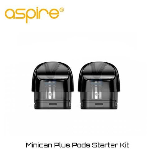 Aspire Minican Plus 3ml 0.8 Ohm Pods - Ανταλλακτικο Δοχειο Αντισταση