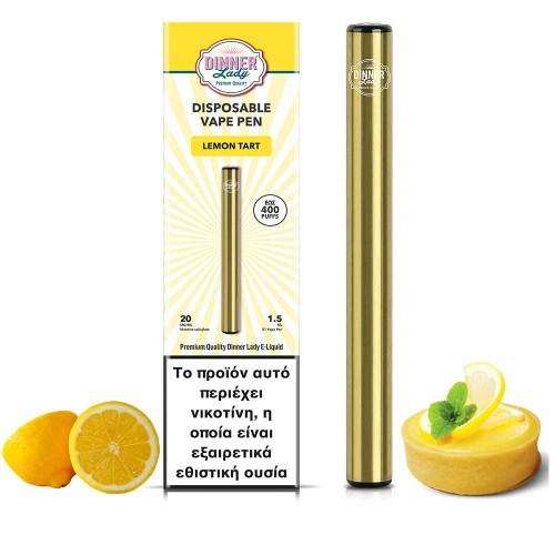 Dinner Lady Lemon Tart Vape Pen Disposable 1.5ml 20mg