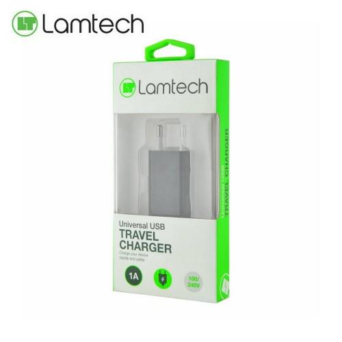 Lamtech USB Wall Charger Φορτιστης Πριζας Τοιχου 240V