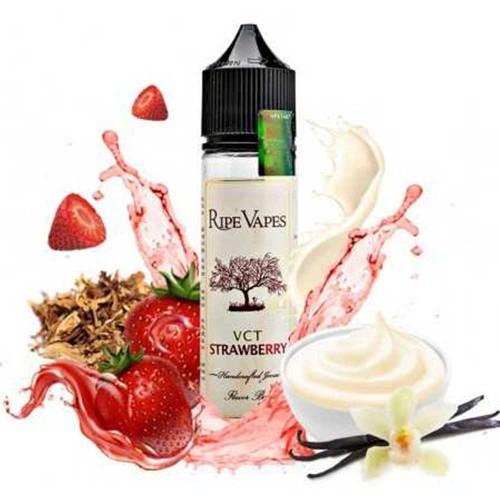 VCT Strawberry Ripe Vapes Shake and Vape 20/60ml