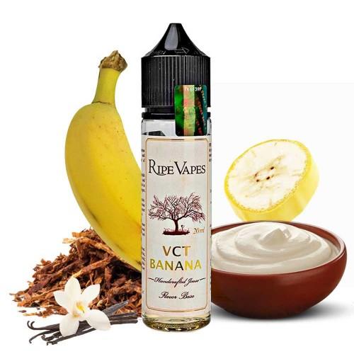 VCT Banana Ripe Vapes Shake and Vape 20/60ml
