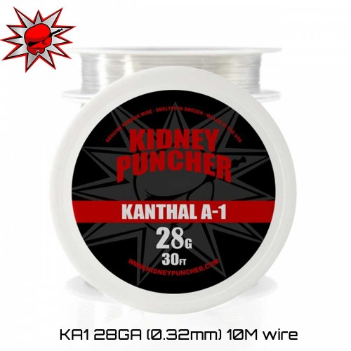 KP Wires Kanthal A1 28GA 10m wire Σύρμα