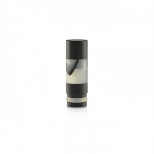 Drip tip Aluminum Acrylic Black Grey