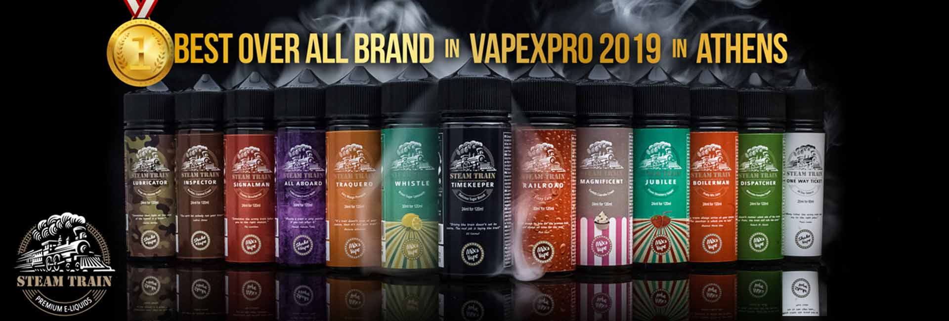 SteamTrain allproduct BEST OVERALL - VAPE TRAIN Orient Express 120ml